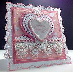 Cards By America: Martha Stuart edge, Nellie Snelling heart. Other details see page linked to image.