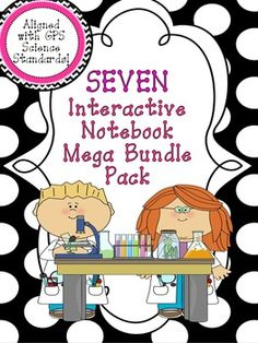 If you teach 3rd grade in Georgia, YOU GOTTA CHECK OUT THIS MEGA BUNDLE! The Interactive Science Notebook Mega Bundle Pack for 3rd Grade Georgia Standards is your go to resource! It includes 7, yes SEVEN, interactive notebooks for you to use. You can use them along with the units, as review packets before the end of the year standardized test, or cut/paste into a yearlong interactive science notebook that you are using!
