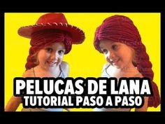 Como Hacer Una Peluca de Lana - paso a paso. Disfráz de Jessie La Vaquerita de Toy Story - YouTube