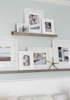 34 Cool Ways To Use Picture Ledges For Home Décor. Are you looking for beautiful and unique art photo prints to create your art walls? Visit bx3foto.etsy.com