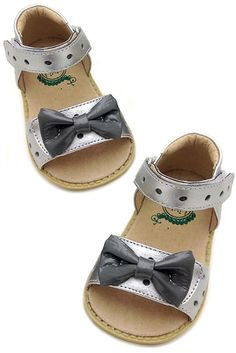 Livie & Luca - Minnie Sandals in Silver