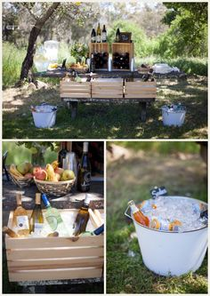 Easy Breezy Picnic Wedding and budget savvy wedding of the week blog