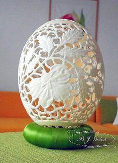 jajko made by Bogusława Justyna Goleń Ażurowe Pisanki