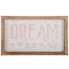 Dream Wood Sign