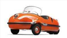 AVOLETTE RECORD DELUXE  1956 De este auto fueron lanzadas cinco versiones distintas.  (Foto: Cortesía CNNMoney.com)
