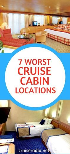 Many would say that being on a cruise is all that matters, but there are certain cruise cabin locations that have proven themselves to be just loud.