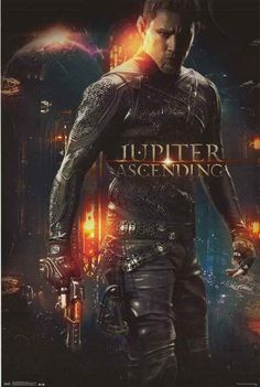 A great Jupiter Ascending movie poster! Channing Tatum is 'Caine' in the sci-fi epic by the Wachowskis (Matrix, V for Vendetta, Cloud Atlas) Fully licensed. 22x34 inches. Need Poster Mounts..? bm2074