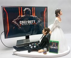 COD Blk Ops III Version 2  Wedding Cake Topper Gamer Xbox One/PS4/PC by TopShelfToppers on Etsy
