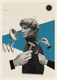 Klawe Rzeczy on Behance Graphic Design Posters, Graphic Design Inspiration, Graphic Art, Collage Illustration, Graphic Design Illustration, Photomontage, Surrealist Collage, Collage Artwork, Collages