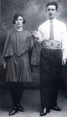 Irish dancers ca. 1910-1920