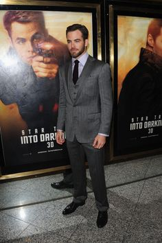 """Chris Pine Photos Photos - Chris Pine attends the UK Premiere of """"Star Trek Into Darkness"""" at The Empire Cinema on May 2, 2013 in London, England. - 'Star Trek Into Darkness' Premieres in London 8"""