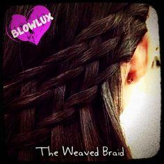 The Weaved Braid Basket Braid, Bombshell Beauty, Hair Inspiration, Braids, Dreadlocks, Hair Styles, Closet, Bang Braids, Hair Plait Styles