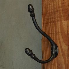 Bistro Wall Hook - Black (Set/3)