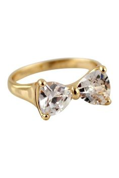 Bow My Ring by Eye Candy Los Angeles on @HauteLook