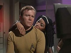 Elaan casts a spell on Kirk in Elaan of Troyius--The U.S.S Enterprise ferrys a spoiled princess whose betrothal to a royal Troyian is hoped will bring peace to a star system at war.