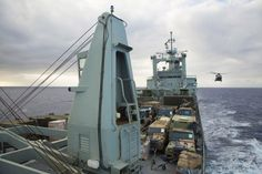 Australian Navy's HMAS Tobruk is distributing humanitarian supplies by MRH-90 Taipan helicopter and amphibious craft to the southern Vanuatu island of Erromango and Tanna. Erromango is 200km south of the capital of Vanuatu Port Vila and was in the direct path of the category five cyclone when it struck on 14-15 March. HMAS Tobruk, under the command of Commander Leif Maxfield, sailed from Townville on 18 March following the Australian Government's decision to provide humanitarian support. The…