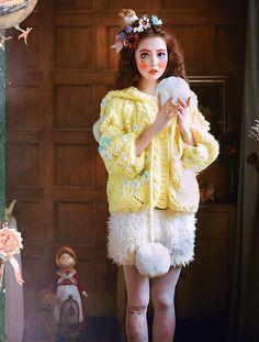 Plus size poncho-Spring Coat Warm bright от Sexy8baby на Etsy