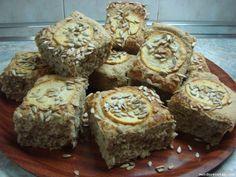 Receta de Pan integral con manzana y pipas de girasol