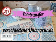 Foto Transfer auf Leinwand - YouTube