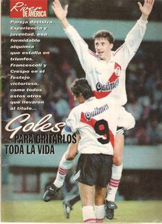 "Libertadores 96 ""River Campeón"" - Taringa! Football Team, Soccer, Baseball Cards, Comics, Heart, Thankful, Mariana, Victorious, Champs"