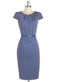 A Very Speckled Occasion Dress | Mod Retro Vintage Dresses | ModCloth.com from ModCloth