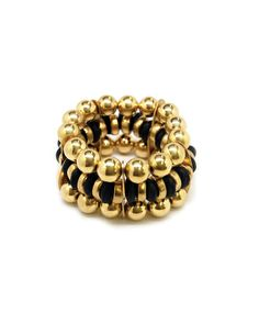 Eclectic Golden Bracelet - JewelMint
