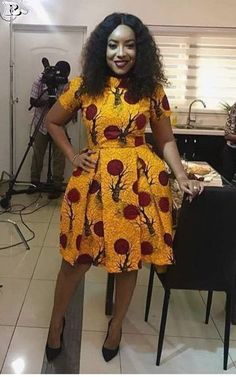 over 30 African yellow dresses 2018 – Reny styles – African Fashion Dresses - African Styles for Ladies Short African Dresses, Ankara Short Gown Styles, African Print Dresses, African Fashion Ankara, Latest African Fashion Dresses, African Print Fashion, Moda Afro, Style Africain, African Traditional Dresses