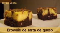 Brownie de Tarta de Queso, Receta Fácil y Rápida con Philadelphia @envid...