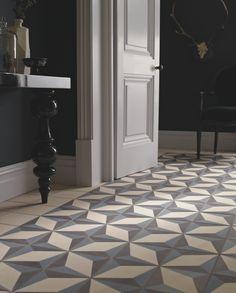 encaustic tiles - fired earth