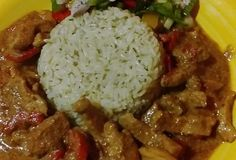 Grains, Pork, Food And Drink, Rice, Beef, Chicken, Kale Stir Fry, Meat, Seeds