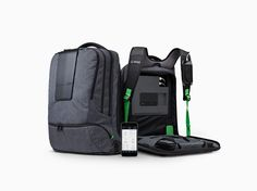 The AMPL SmartBackpack is a combo backpack/mobile power station for charging your devices---even a laptop. The company is launching a crowdfunding campaign today.