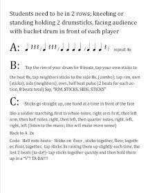 "O For Tuna Orff: Bucket Drum Routine to ""Trepak"" from Nutcracker"