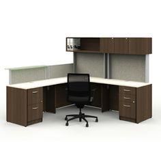 Tayco Metropolis Collaborate administrative workstation, reception L Shape