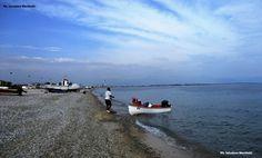 Prima domenica di ottobre, i colori del mare sulla spiaggia dei pescatori! Ph. Salvatore Martilotti
