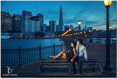 San Francisco Engagement Photo Session | Lizelle + George | San ...