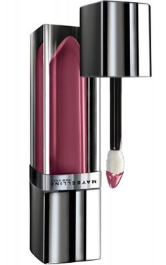 Color Elixir by Maybelline in Mauve Mystique shade of lip gloss.  New and very UN-smearable.  The case looks like a stick of solid lip color, but when you open it, there is a feather-shaped applicator.  Cool!