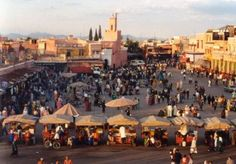 S3E6: Jamaa el Fna, Marrakech.  There is no other square like this one. Famous for centuries for its colors, scents, musicians, acrobats, snake charmers, fortunetellers and storytellers.There are also many small open-air restaurants offering a great variety of Moroccan foods.