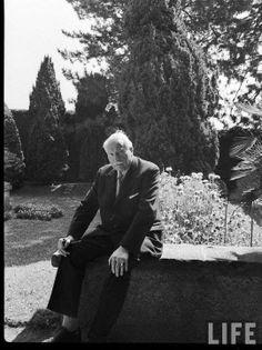 Carl Jung at Kusnacht