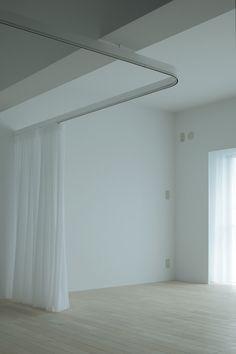 renovation in Morooka / コーポ諸岡 « rhythmdesign Simple Interior, Make Design, Drapes Curtains, Decoration, House Design, Architecture, Shades, Inspiration, Furniture