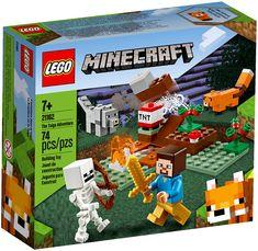 LEGO® Minecraft™ The Taiga Adventure 21162 – Target Australia Lego Ninjago, Lego Duplo, Lego Toys, Lego Minecraft, Minecraft Crafts, Minecraft Buildings, Lego Disney, Lego Friends, Legos