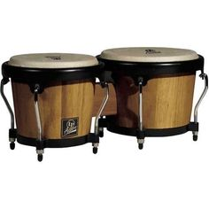 Lp Lpa601 Aspire Oak Bongos With Black Hardware Dark Wood by LP. $95.99. LP Aspire Wood Bongos are ideal for students, hobbyists and aspiring musicians. They provide great value at an affordable price.