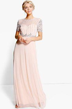 Boutique Emily Beaded Maxi Dress