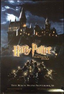 Harry Potter And The Sorcerer S Stone Movie Poster Carteles De Peliculas Ver Peliculas Harry Potter