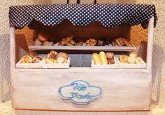 Olha o pão caseiro ! www.facebook.com/ideiasoltasminiaturas