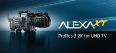 ARRI continued to expand its acquisition strategy this week with the announcement of ProRes a new Alexa recording format designed to allow easy, h Cinema Camera, 4k Uhd, Technology, Tv, Programming, Cameras, Tech, Television Set, Camera
