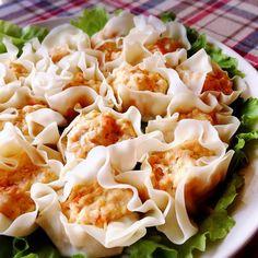 ぶきっちょさんの作る人参豆腐のレンチン鶏焼売