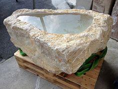 Ein Brunnen entsteht: Steinbrocken Code 110 Serving Bowls, Tableware, Stones, Bowls, Dinnerware, Serving Dishes, Dishes, Serveware