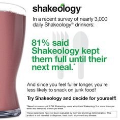 Strawberry Sea Salt: 1 Packet of Strawberry Shakeology, 1 cup NF Milk and a dash of sea salt.  Ice to Taste. Blend.  ENJOY.