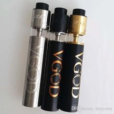 Vgod Pro Mech Mod Kit 24mm Diameter Vape Mod Clone 5 Large Vent Holes 510 Connecttion With Vgod Trick Pro Tank E Cigarette Kits Starter Kit Electronic Cigarette Tank E Cig Starter Kits From Diarymm, $17.79 Dhgate.Com