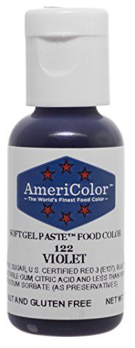 VIOLET 75 Ounce Soft Gel Paste Food Color ** Learn more by visiting the image link. (It is an affiliate link and I receive commission through sales)